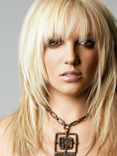The beautiful American female singer Britney Spears photo image.