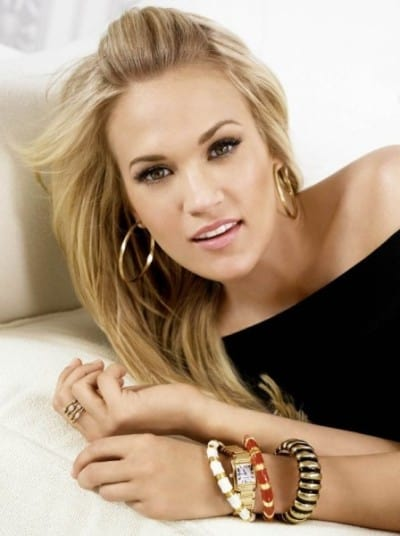 An American country singer and song writer, Carrie Underwood.