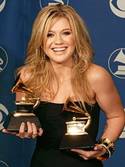 Kelly Clarkson won the Best Female Pop Vocal Performance and Best Pop Vocal Album.