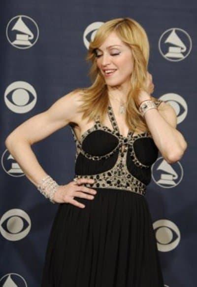 Madonna Grammys Dress Dress Madonna Attends The