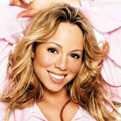 The famous American R&B and pop singer Mariah Carey image.