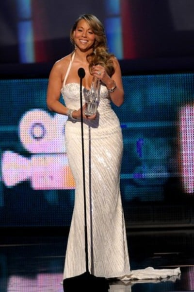 Mariah Carey won Favourite R&B Singer during the People's Choice Awards 2010.