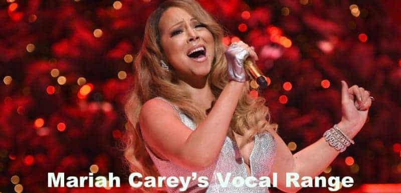 Mariah Carey perform in live concert.