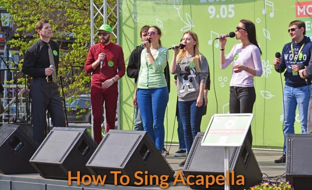 How to Sing A Cappella Professionally - BecomeSingers Com
