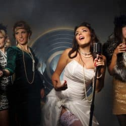 A group of female singers creating their own unique singing style.