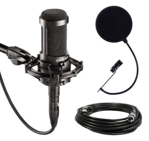 Audio-Technica AT2035- Rapper Vocal Mic