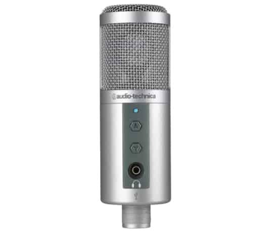 Audio-Technica ATR2500-USB Cardioid Condenser USB Mic