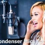 4 Best Condenser Microphones for Vocals