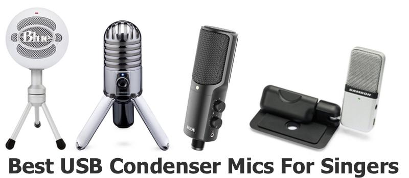 Best USB Condenser Mics for Singers