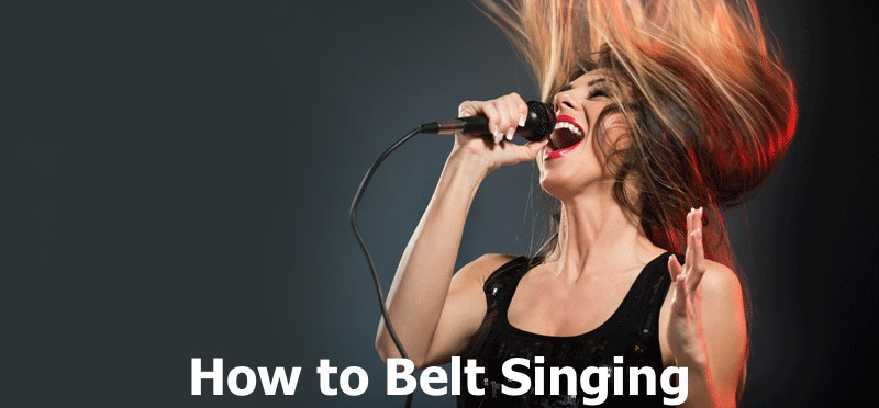 How to Belt Singing