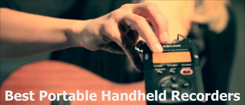 Using the Portable Handheld Recorders