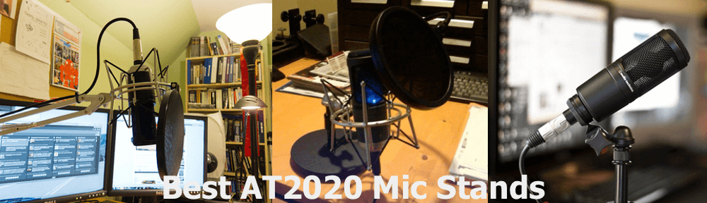 AT2020 Mic setup ideas and examples.