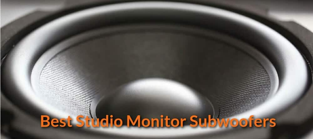 Best Studio Monitor Subwoofers
