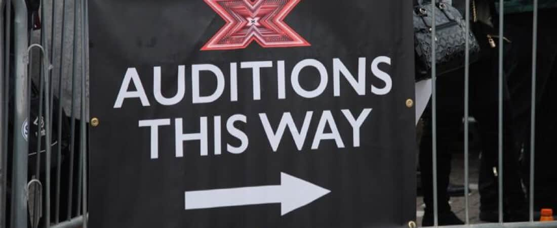 X-Factor audition entry.