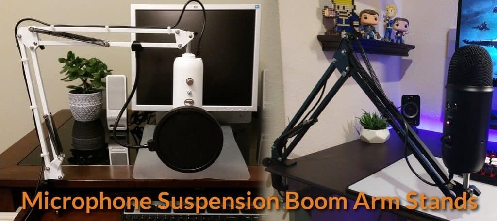 Best Microphone Suspension Boom Arm Stands