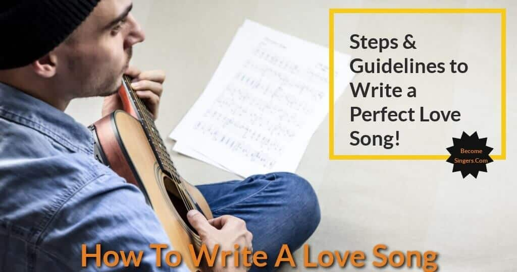 writing a love song Whether it's a song you love or can't stand, you have to admit there's great science behind songwriting creating something that piques a large audience's interest, even those who consider it a guilty pleasure, is a tough task to take on.
