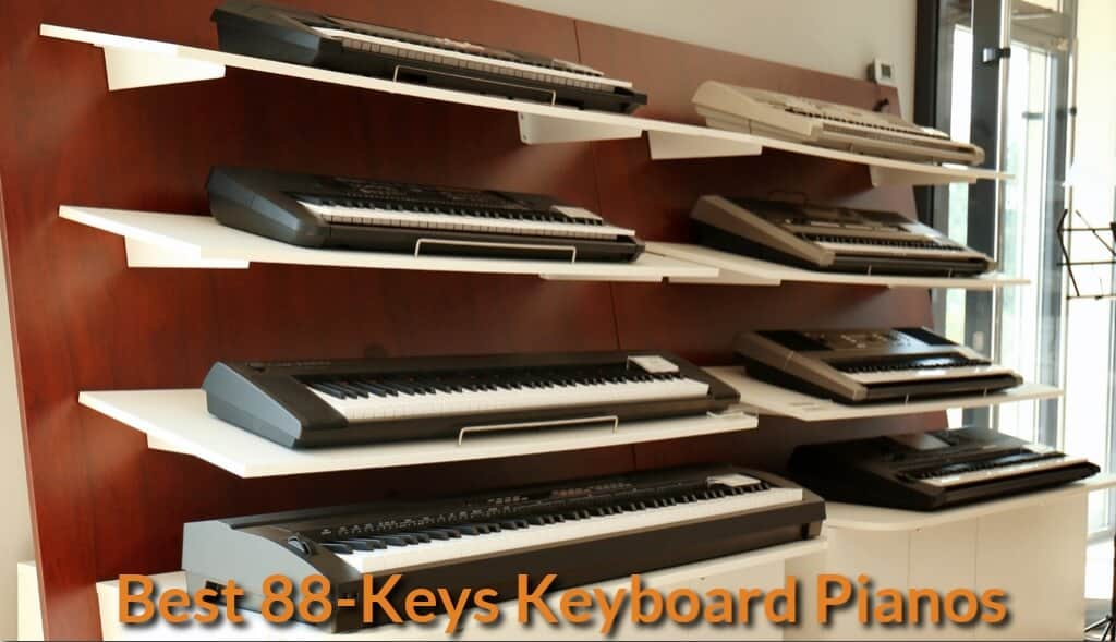 Full size keyboard pianos