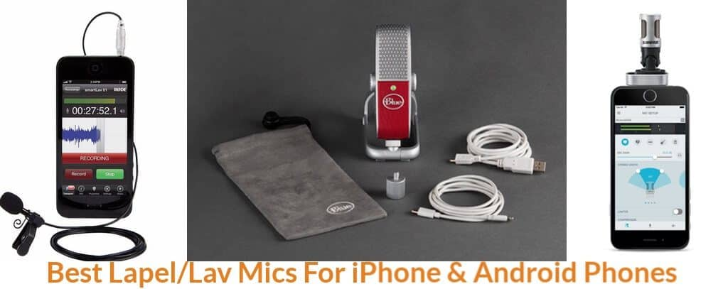Types of lav mics that compatible with Iphone.