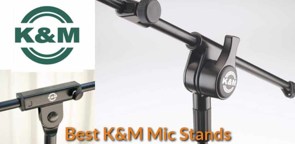 Types of KM microphone stands.