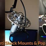 Blue Yeti Shock Mounts & Pop Filters