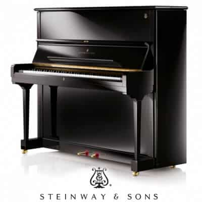 Steinway & Sons Professional Upright and the Model 1098 Studio upright model.