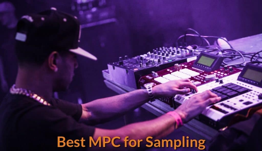 Making music with the sampling.MPC