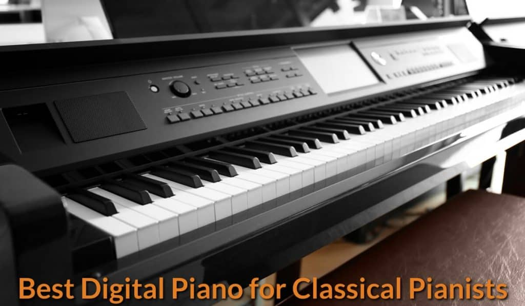 High-end digital piano with full features.