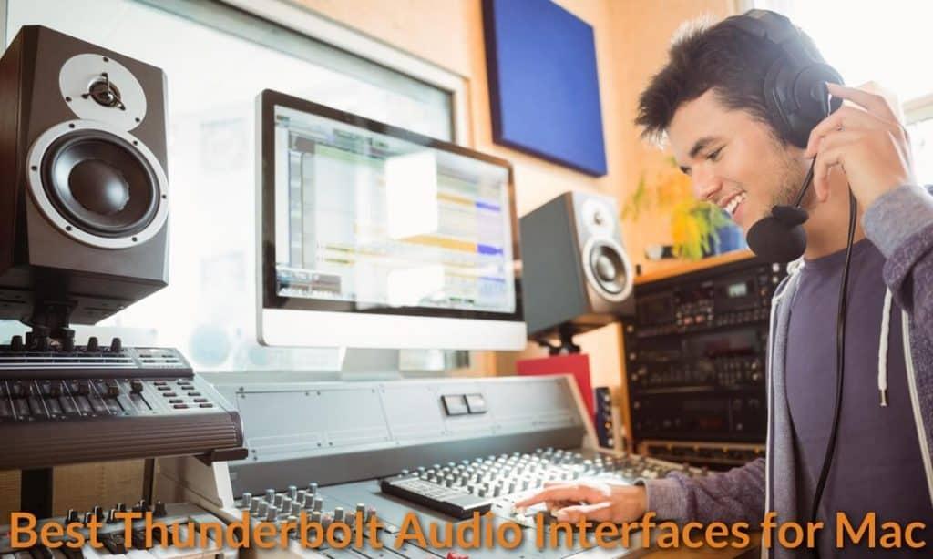 Mixing, editing and monitoring music with Mac.