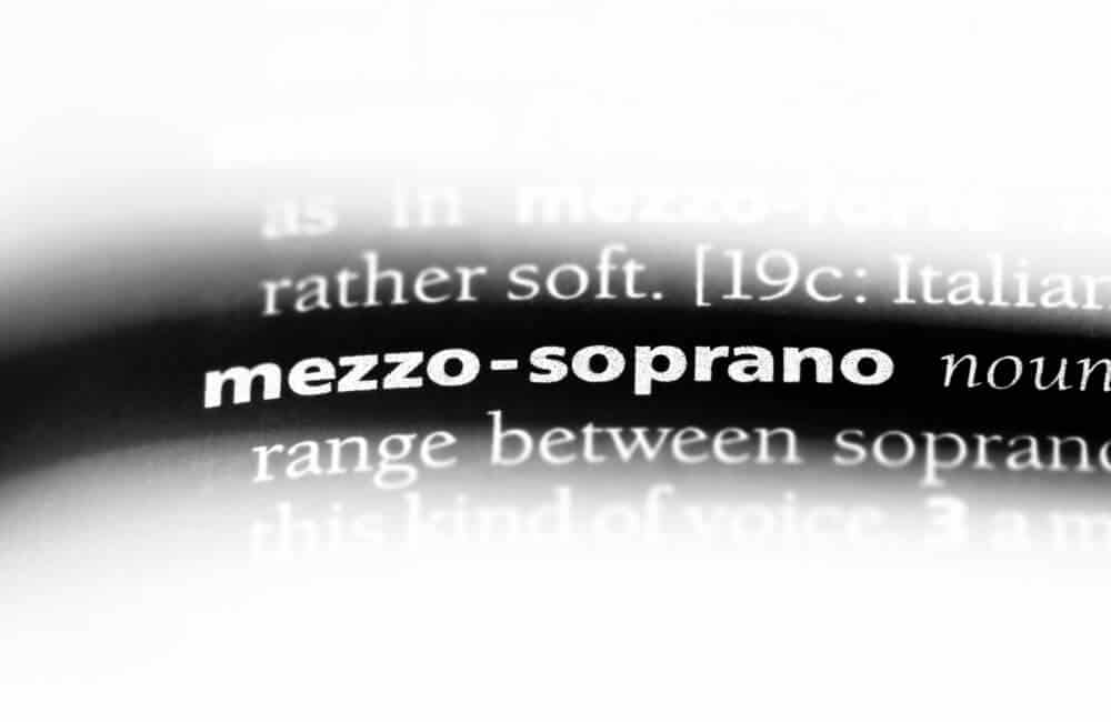 Mezzo-soprano definition.