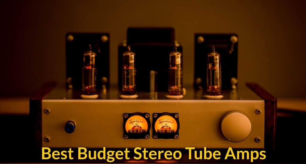 Small tube amplifier set.