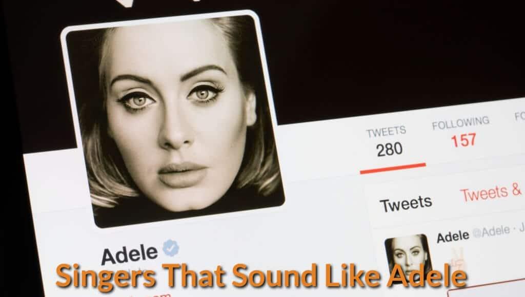 Adele twitter cover