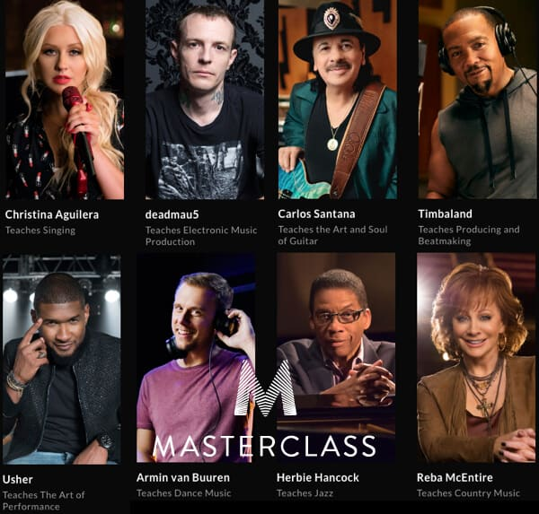 Click Here to Access All The Master Classes Now!