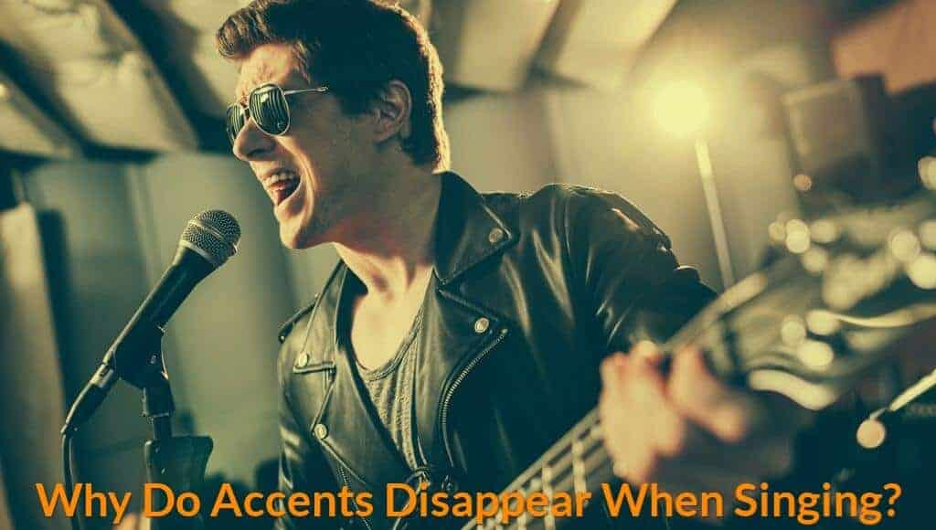 A British lead singer is able to sing without accents.