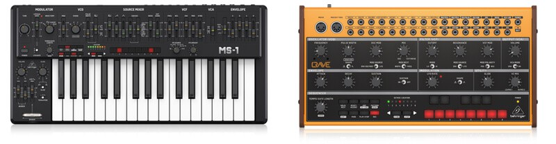 Behringer's MS-101 and Crave Synths