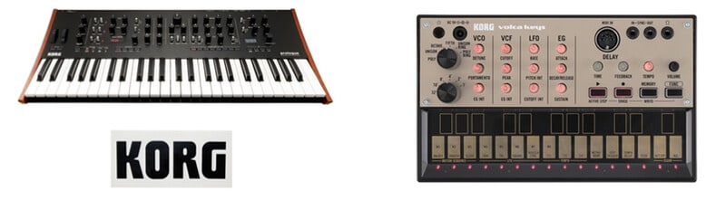 Korg Synth models