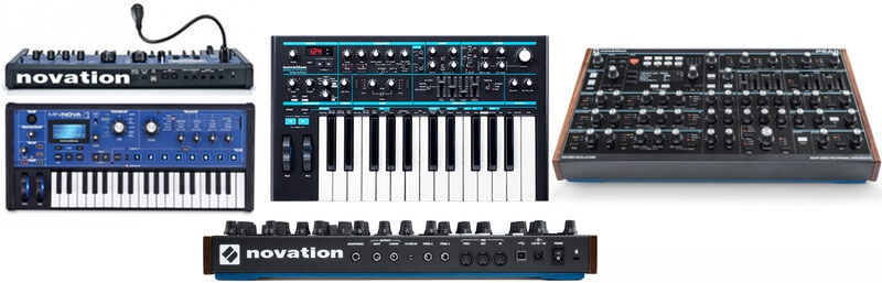 Novation Synth Models.
