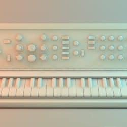 Prototype of a mono synth.