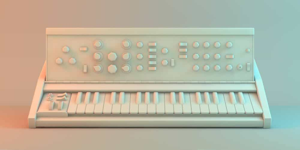 Prototype of a mono synth.