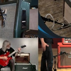 Miking guitar Amps with the right type of mic.