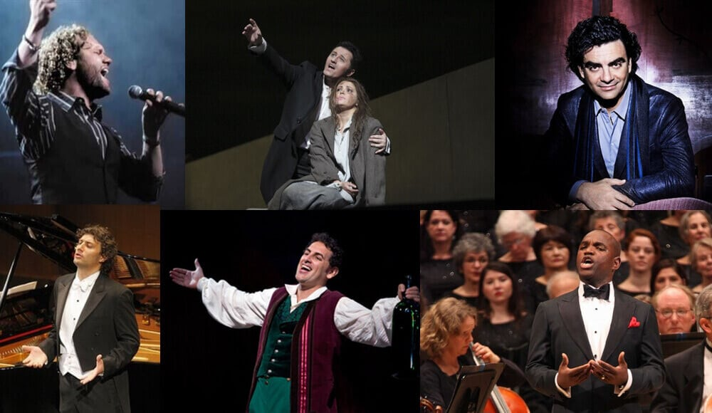 List of top tenor singers in the world.