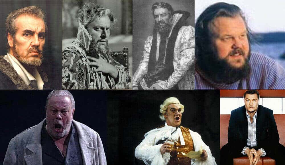 List of popular bass singers in classical opera music.