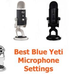 Optimal Blue Yeti configuration,settings and adjustments for better sound quality.