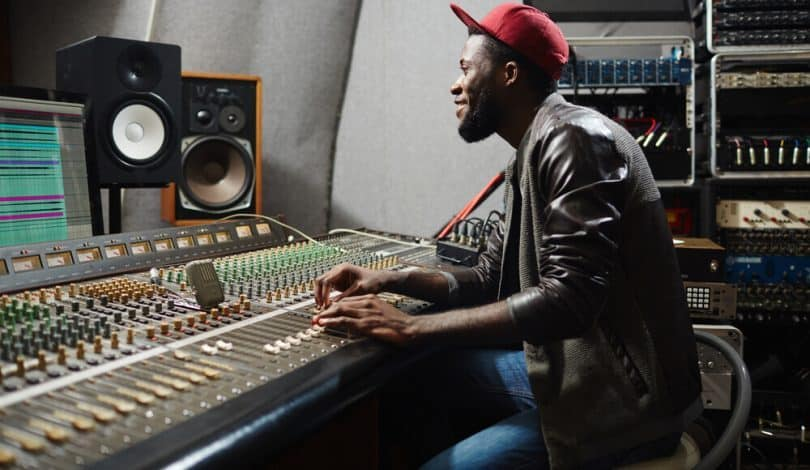 Making the r&b and hip hop music.