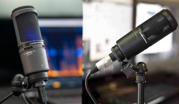 Tips on AT2020 mic setting for better sound quality.