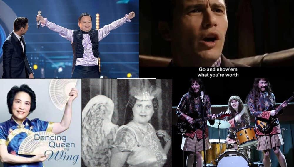 Singers who singing off-key.