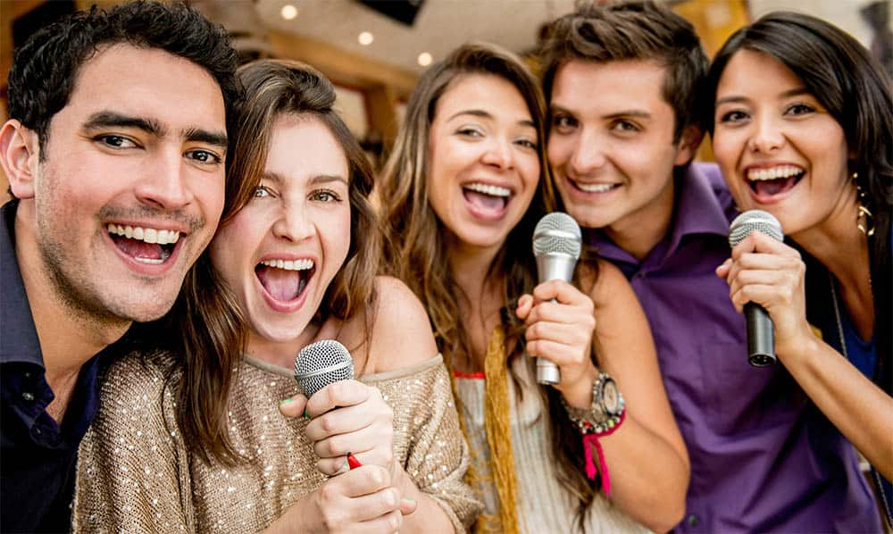 Singing in a group