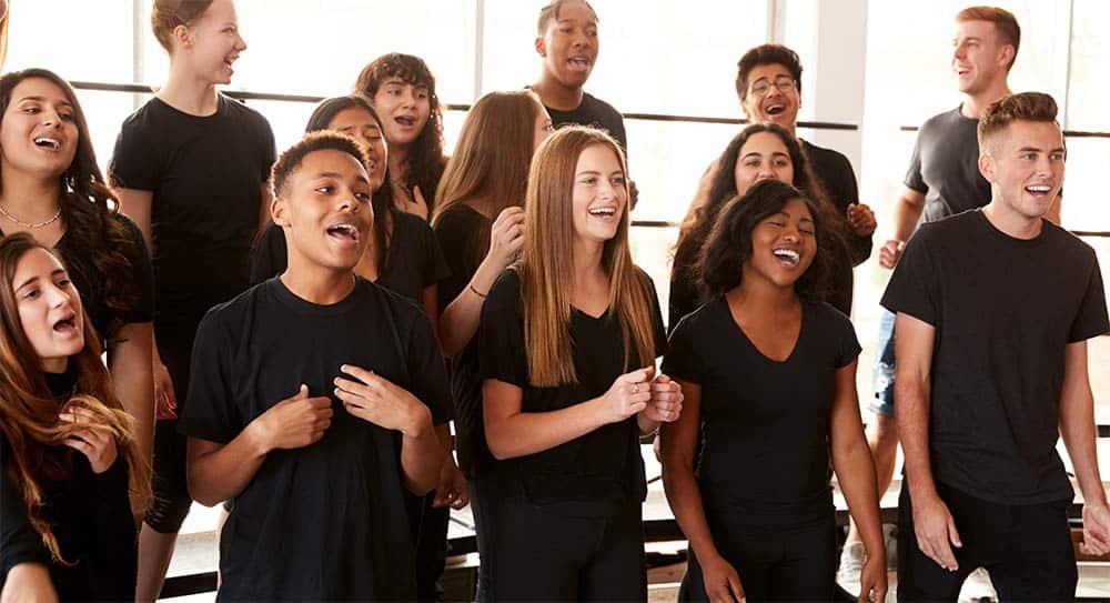 singing in harmony